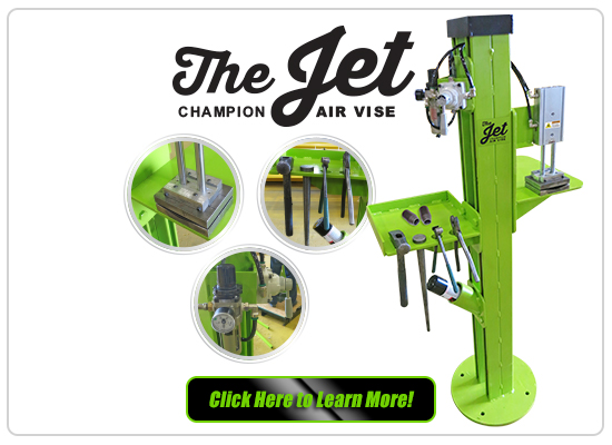 Indusco The Jet Air Vise
