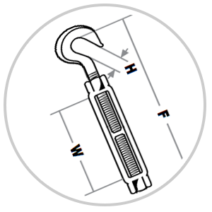 Indusco Turnbuckles Icon